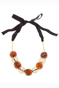 MARNI RIBBON TIE NECKLACE, $299