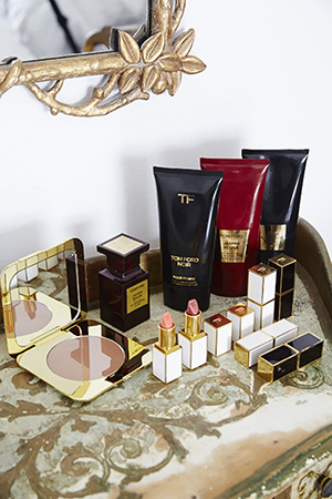 Tom Ford everything. Bahar is loyal when it comes to make up