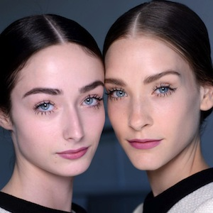 Backstage at Mansur Gavriel SS16 with NARS