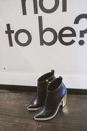 best foot forward; nicholas kirkwood boots
