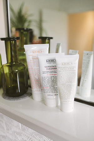 nick loves kiehl's as a skin saviour for hand and face