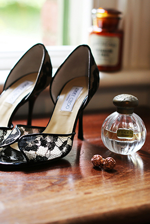 JIMMY CHOO STILETTOS COMPLIMENT A NIGHT OUT