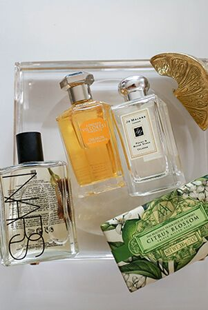 A HANDFUL OF LOUISE'S FAVOURITE SCENTS