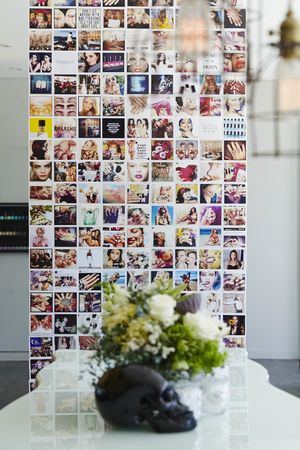 The instagram wall of selfies
