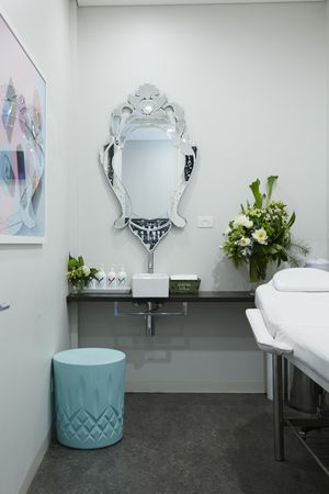details make the treatment rooms feel like home