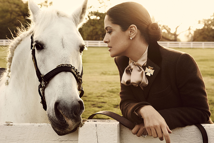 Beauticate loves this image of Salma Hayek by Giampaolo Sgura