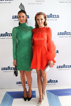 Megan Gale and Rebecca Judd steal the show