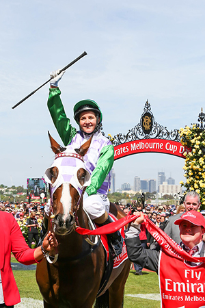 Michelle Payne, first female jockey to win the cup