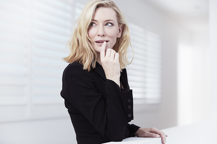Cate presents a multitude of roles in the new Si campaign