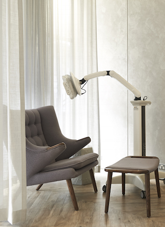 Sit comfy while you enjoy your luxurious treatment
