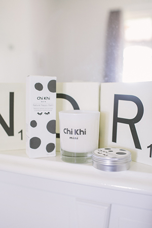 chi khi's wonder cream and nappy balm are for sensitive bubs