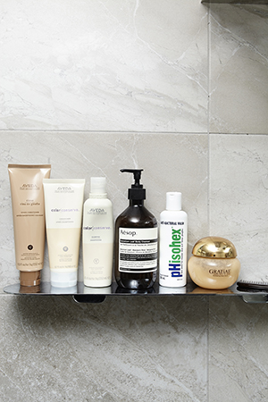 in the Shower: Aveda, Aesop and Phisohex