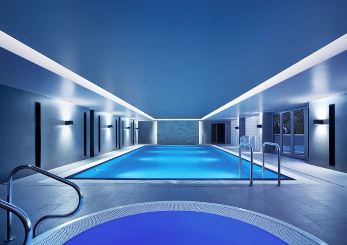 Guests are welcome to use the pool before and after their treatments