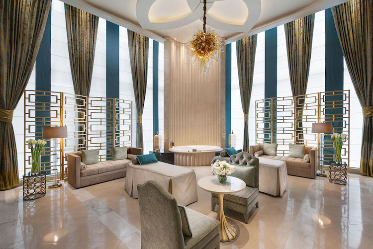 The incredible Indulgence Suite at Crown Spa