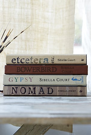 four of sibella's books