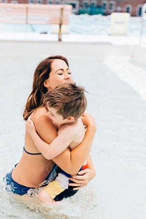 cuddles at north sydney pool