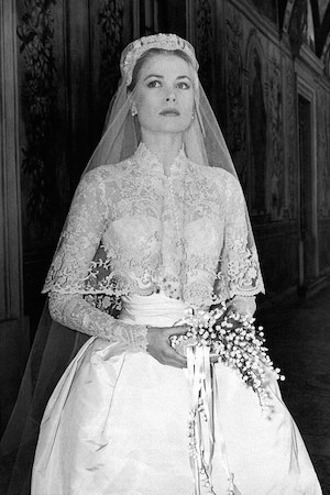 Grace's gown has served as bridal inspo ever since wedding
