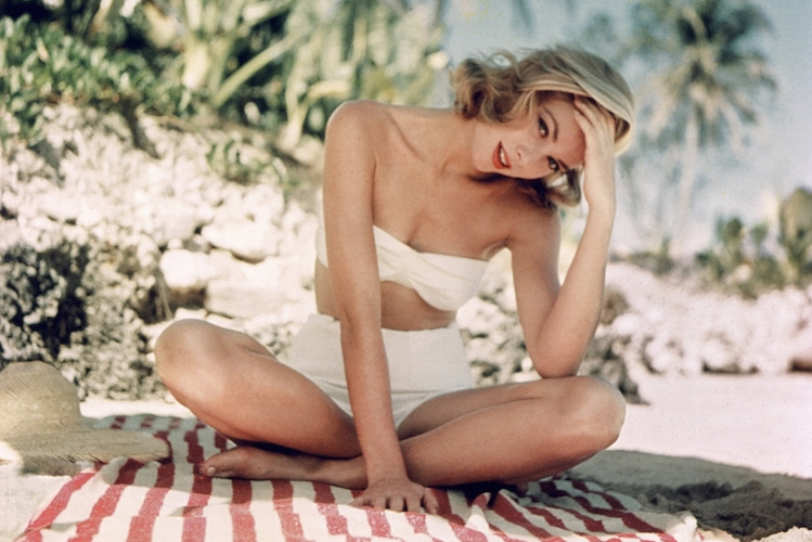 Beauticate loves this shot of Grace Kelly in Jamaica, as shot by Howell Conant