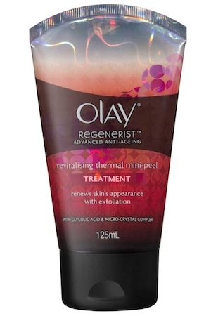 Olay Regenerist Advanced Revitalising Thermal Mini-Peel Treatment, $19.99