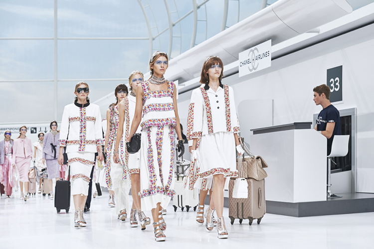 Great skin was in style at the Chanel Spring/Summer 2016 show