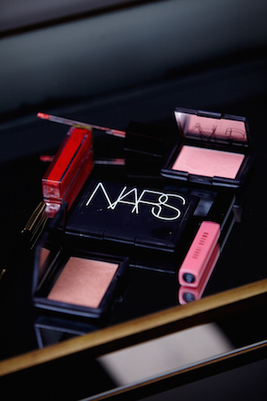 block colour; her favourite nars bronzers and blushes