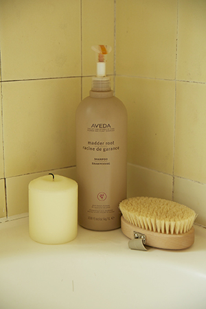 kirsten is a fan of aveda products and salons
