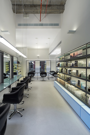 clean, minimalist interiors make for a zen, stress free pamper session