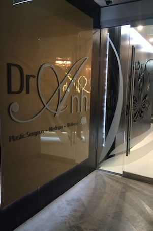 Luxe from beginning to end: Dr. Anh medispa, where Lucy experienced the Mesoéclat Treatment