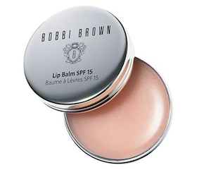 BOBBI BROWN LIP BALM SPF 15, $38