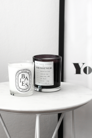 CRAZY FOR CANDLES; DIPTYQUE'S BAIES AND A NATIVE BUSH SCENT FILL BECK'S APARTMENT