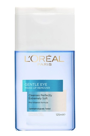 L'Oreal Gentle Eyes & Lips Express Makeup Remover, $13.99