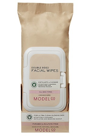 ModelCo Double Sided Facial Wipes, $7.99