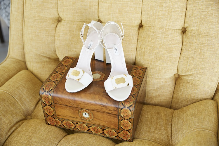 A treasured jewellery box and her own Bally shoes