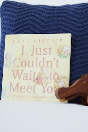 Kate's book began as love letters to her unborn daughter