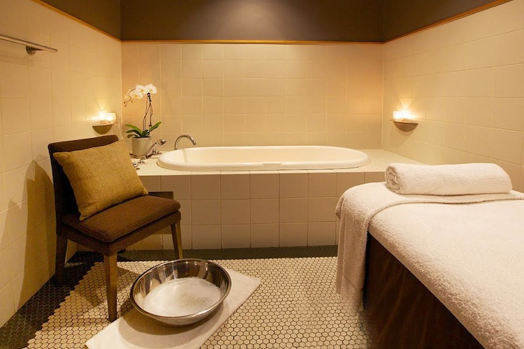 Dedication to creating a calm ambiance throughout,with muted tones and zen lighting, sets this spa apart from the rest.