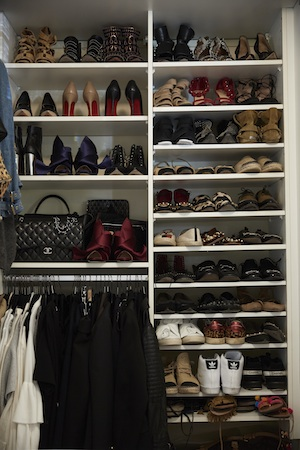 A Most Enviable Closet Space...