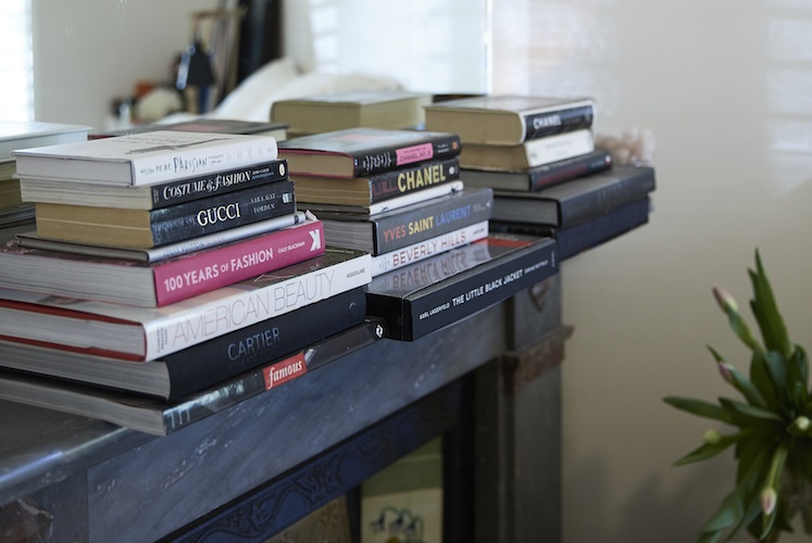 With books on display all through her home, Tash says they give her 'much joy'.