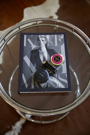 Another Small-Framed Idol For The Singer Is Kate Moss, 'She's Timeless, And the book is Perfect For My coffee Table''.