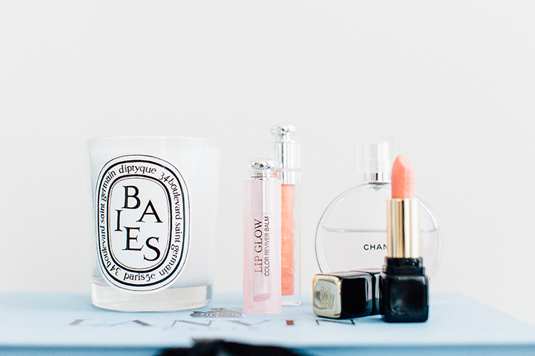 Carin's beauty essentials