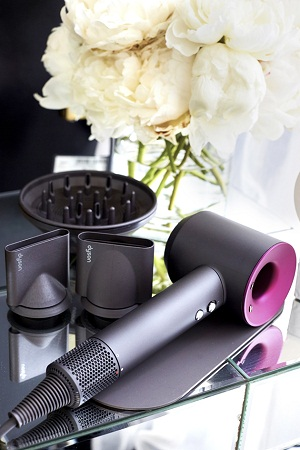 THE DYSON SUPERSONIC HAIR DRYER