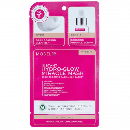 ModelCo Instant Hydra-Glow Miracle Mask