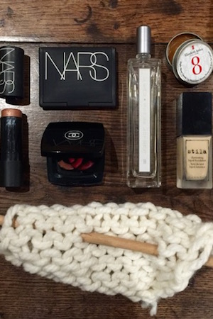 Georgina favours Stila, Chanel, Nars and Serge Lutens in her makeup kit