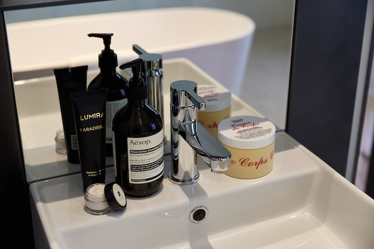 Storm keeps her bathroom stocked with Australian brand Aesop