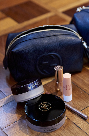 Laura Mercier, Charlotte Tilbury and Chanel are among her favourites.