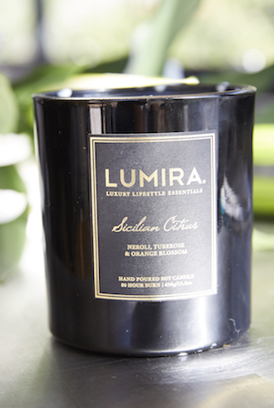 Lumira candles are a current favourite