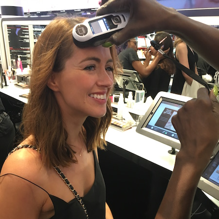 The ID colour service that matches your skin tone to foundation in the Sephora Store