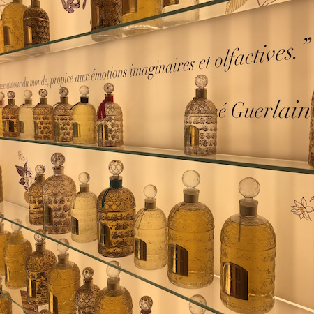 A perfume tour in the Guerlain store followed by shopping in Sephora for some of the latest in overseas beauty