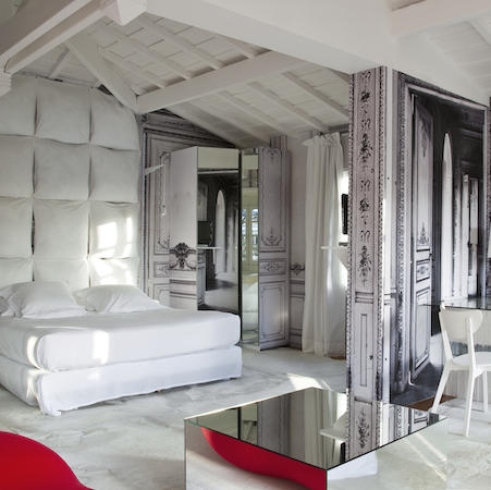 Interior heaven at the La Maison De Champs-Elysee Hotel