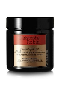 To style this look use  CHRISTOPHE ROBIN'S Regenerating Mask with Rare Prickly Pear Seed Oil