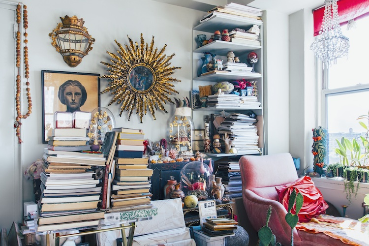 Her home is bold, unique and brimming with a lifetime of collectables.
